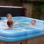 hot tub invasion