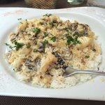 Seabass with rice yummy