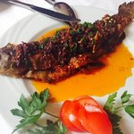 Forelle mit Paprika & Chilli