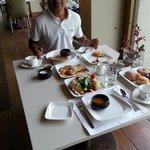 lovely breakfast in All dinning hall