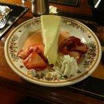 Cheesecake & Strawberries