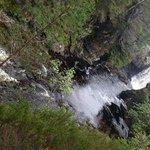 Waterfall at estate