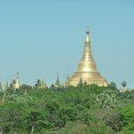 Shwedagon from room
