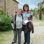 La simpaticissima Signora Antonietta!!!