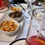 Mirabeau - Appetizers (Peanuts, olives, etc.)