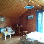 First floor first room (wooden floor)