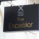Excelsior Hotel sign
