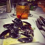 Prince Edward Island Mussels and Manhattan
