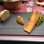 Foie gras de canard maison et chutney de fruits