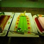 Farverige desserter