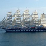 sailing cruise ship
