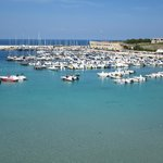 View of the Adriatic in Otranto