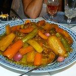 tajine de boeuf cuisinée par Fatima