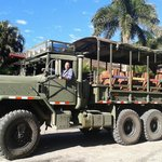 Camion para los tours de montaña