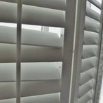 Borken shutters
