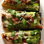Peas & Bacon Toast