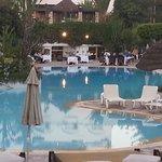 piscine et diner du soir