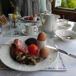 шотландский завтрак, вторая перемена блюд
