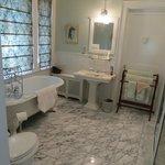 bathroom in Ayers room