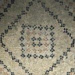 particolare di mosaico
