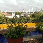 vista de Cartagena desde la terraza