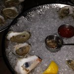 Oysters were excellent, some were briny and some were not just as promised