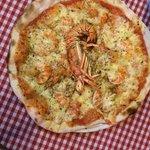 pizza aragosta