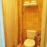 Banheiro - chuveiro apertado!