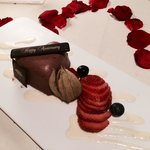 Complementary cake by Dolce Vita