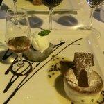 souflé / ice cream and madeira brandy
