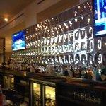 Hotel bar - nice architectural mirror finish