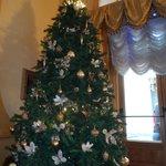 Arbol de Navidad en la entrada