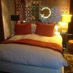 Le magnifique et confortable lit!