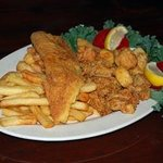Wharf Fried combo Platter