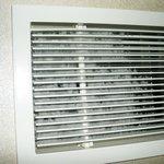 Staubflusen in der Klimaanlage