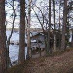 Озеро Сайма у отеля