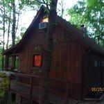 Honeymooner's cabin