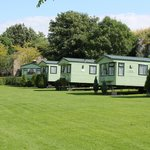 Caravans for hire at Lime Tree Holiday Park