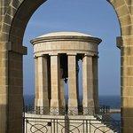 Baracca arch/Siege Bell, just around the corner.
