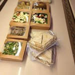 A lovely picnic lunch prepared by Abid