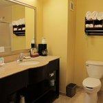 Bathroom in room 313.