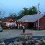 Wedding Reception outdoor bar