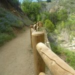 Canyon trail is shaded only some of the way