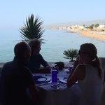 Diner vue sur mer