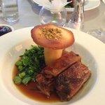 Slow roast shoulder of lamb