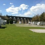 Touring park at Lime Tree Holiday Park