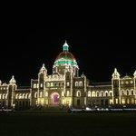 Parliament at Christmas
