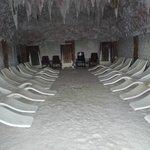 Соляная пещера в аквапарке