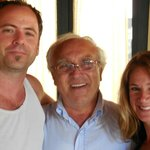 me and my husband with the Owner, Salvatore