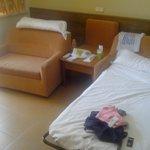 camas de habitacion cuadruple